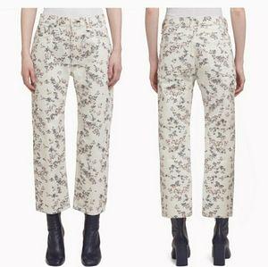Rag and Bone Micro floral print Boyfriend Jeans